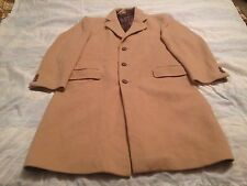 Cashmere & Wool L/xL Long Trench Dress Coat Men Women