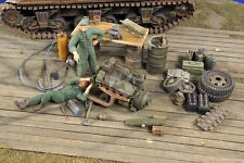 Verlinden 1/35 US Military Field Workshop w/Mechanics & Acc. WWII (2 Figs.) 2781