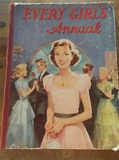 EVERY GIRLS ANNUAL c1950 Stories Articles Horses Verse Comic Strips How to Make