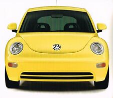 Big 1998 Volkswagen VW BEETLE / BUG Brochure with Color Chart's: TDi Diesel,