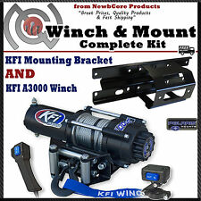 KFI 3000 lb Winch Combo for 2005-2010 Polaris Sportsman, X2, Touring (see chart)