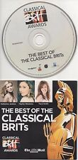 The Best of CLASSICAL BRITs CD Katherine Jenkins Russell Watson 2009 Opera Babes