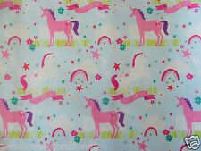 x/large 1m sheet unicorn gift wrapping paper- christmas-birthday