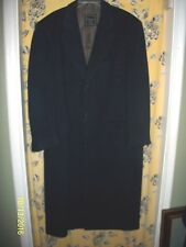 NWOT MEN'S CHRISTIAN DIOR MONSIEUR NAVY WOOL OVERCOAT SIZE 48