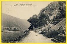 cpa 08 - DEVILLE (Ardennes) ROCHER et CARRIÈRE de Quartzite du THILLOT Tapis