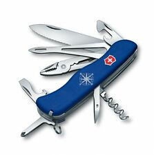 0.9093.2W Victorinox Swiss Army Pocket Knife Skipper Blue Handles 53663 090932W