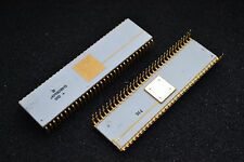 Rare Vintage Gold Ceramic KM1801VM3 - USSR Soviet Clone of DEC PDP-11 CPU QTY=1