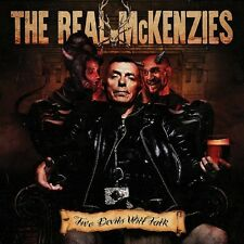 THE REAL MCKENZIES - TWO DEVILS WILL TALK   VINYL LP NEW+