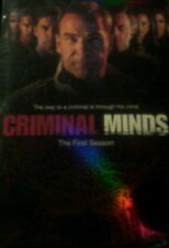 CRIMINAL MINDS The COMPLETE FIRST SEASON 22 Episodes + Special Features SEALED