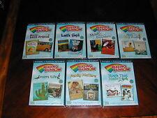 Lot of 7 Reading Rainbow Teaching Kids to Read PBS Levar Burton New Dvd