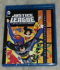Justice League Illimitato Completo: Stagione 1 & 2 - Blu-Ray Cofanetto