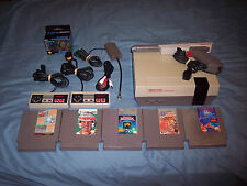 Nintendo NES Console System Complete New 72 Pin Connector 5 Games SMB/DH Tetris