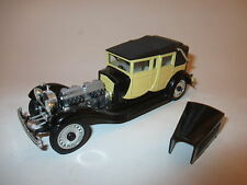 Bugatti Typ T 41 Royal Royale Tourer Cabriolet (1930) in creme, Rio in 1:43!