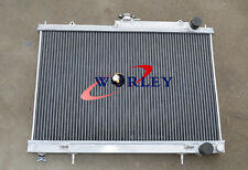 For Nissan Skyline R33 R34 GTR GTS-T all aluminum radiator