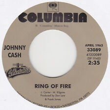 "Johnny Cash - Ring Of Fire / It Ain't Me Babe - 7"" US Vinyl 45 - New & Unplayed"