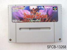 Demons Blazon Crest Super Famicom Japanese Import SFC Demon's Japan US Seller B