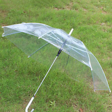1 PCS Transparent Clear Automatic Umbrella Parasol For Wedding Party Favor H57