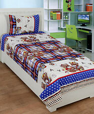 Homefab India 3D Single Bed-Sheet with 1 Pillow Cover (Single169)