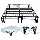 New Full Size Steel Bed Frame Foundation Night Therapy Smart Base