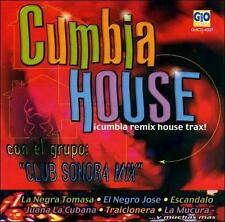 Cumbia House, Remix house trax by Club Sonora Mix CD 1999 Gio music