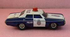 Vintage Chevrolet Tin Metal Police Car Made in Japan.