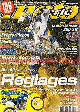 MOTO VERTE 348 GAS GAS 300 EC 250 Pampera KTM EXC KTM 525 EXC TM E SCORPA SY