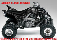 Invision décor Kit ATV yamaha raptor yfm 125/250/350/660/700 Adrenaline junkie B