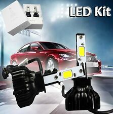 H1 High Power COB 60W HID Xenon LED Headlight Replacement Conversion Kit White
