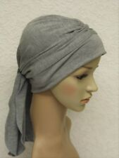 Full turban hat with ties, chemo head wear, head covering for hair loss, turban