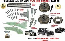 PARA BMW MINI 1.6 ONE COOPER S JCW 06-  KIT DE CADENA DE DISTRIBUCIÓN+VVT
