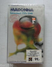 Madonna : Greatest Hits LIVE  THAILAND CASSETTE TAPE Sealed...Rare!