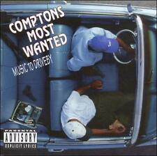 Compton's Most Wanted Music To Drive By CD Gangsta Hardcore Music