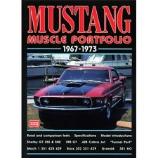 Mustang Muscle Portfolio 1967-1973 book paper