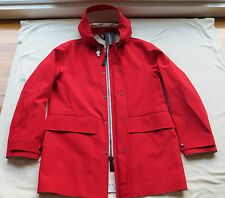 NWT $2495 BURBERRY PRORSUM Mens Red Rain Coat/Jacket US 36 EU 46