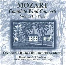 Mozart Complete Wind Concerti: Volume 2 - Flute 1995 by Mozart, W. A.; Crawford,