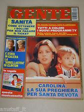 GENTE=1993/8=CAROLINE DE MONACO=CUCCARINI=PAVAROTTI=ALESSANDRA CANALE=VOLVO ECC=