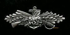 SEABEES COMBAT WARFARE BADGE ENLISTED SEABEE US NAVY USN HAT PIN USS GIFT WOW