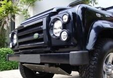 SVX style front grille kit for Land Rover Defender 90  110 in Gloss Black
