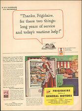 1943 Vintage ad Frigidaire Refirgerators`General Motors Art  WWII era  (092516)