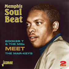 MEMPHIS SOUL BEAT +Mar-Keys ooker T. & The M.G.s 2 CD NEU