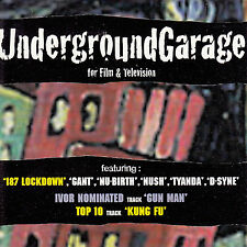 UNDERGROUND GARAGE FOR FILM & TV UK 9-trk promo CD 187 Lockdown Gant Nush D-Syne