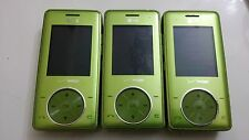 Lot of 3 VX8500 Verizon LIME  Cell Phones Powers Up