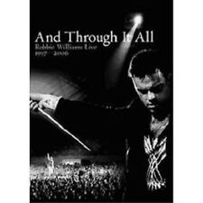 "ROBBIE WILLIAMS ""AND THROUGH IT ALL..."" 2 DVD NEU"