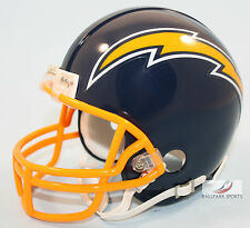 SAN DIEGO CHARGERS (1974-1987 Throwback) Riddell VSR4 Mini Helmet