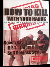 Self Defense DVD Set - HOW TO KILL WITH YOUR HANDS...2 Disc Set