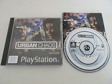 URBAN CHAOS - SONY PLAYSTATION - JEU PS1 PSX COMPLET