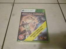 xbox 360 mortal kombat promotional copy
