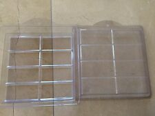 NEW Plastic 8 Bar Soap Mold - Makes 8 bars