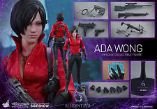 "RESIDENT EVIL 6 Ada Wong 1/6 Action Figure 12"" Hot Toys Sideshow VGM21"