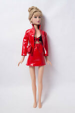 Madame Alexander Puppe Doll Fashiondoll rotes Outfit